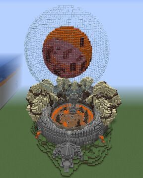 Lava Arena + DOWNLOAD + SCHEMATIC Minecraft Map & Project