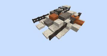 Star Wars Snowspeeder With Download #WeAreConquest Minecraft Map & Project