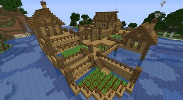 Awesome house Minecraft Map & Project
