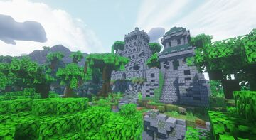 Itocapehua - Fantasy Meso-American Mayan/Aztec inspired ruins - Fables and Fantasy Minecraft Map & Project