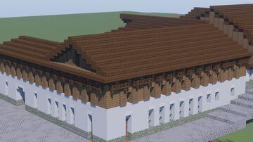 """Ресторан """"Ъ"""" и жилые пространства (Швайнград) Minecraft Map & Project"""