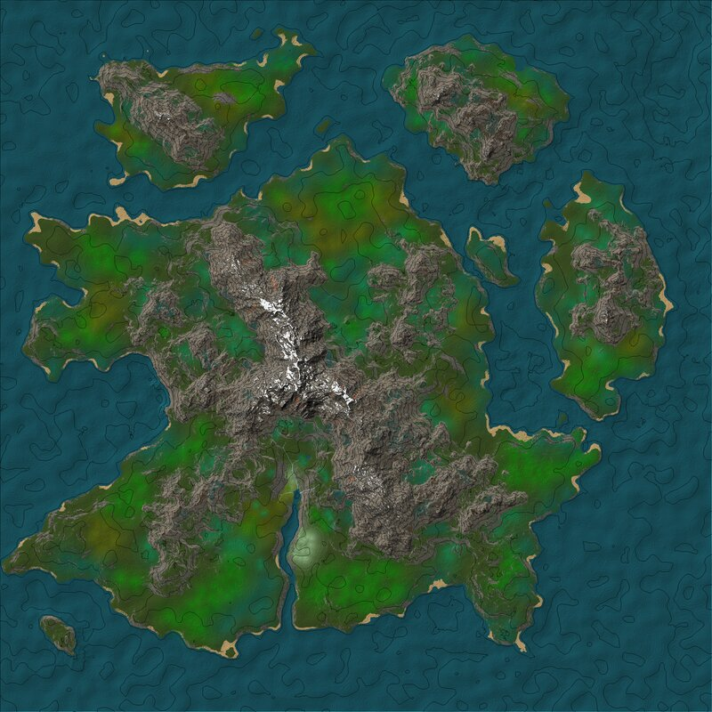2d view of the map