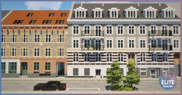 Old European Apartment Buildings | Denmark, Scandinavia | ERT Minecraft Map & Project