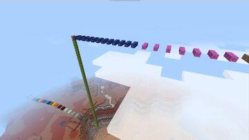 Parkourowa przygoda, Parkour adventure (Bedrock Edition) Minecraft Map & Project
