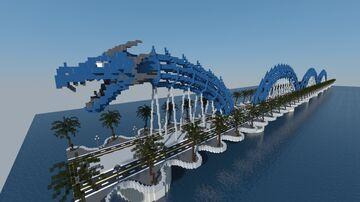 Dragon Bridge Minecraft Map & Project