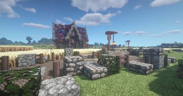 Fantasy medieval world Minecraft Map & Project