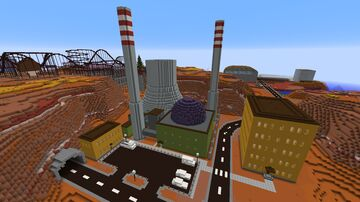 Power Station Minecraft Map & Project