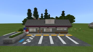 Benny's Burgers from Stranger Things!! Minecraft Map & Project