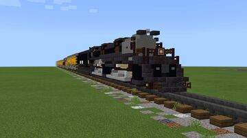 Union Pacific 4884-1 4-8-8-4 Big Boy 4014 Minecraft Map & Project