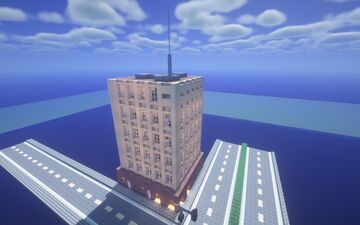 Supreme court building- Bridgewood Heights Minecraft Map & Project