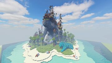 Shipstack Isle - Buccaneer Bay Build Contest Minecraft Map & Project