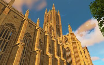 Cathedral Church of St Michael & All Angels, Linford-upon-Avon Minecraft Map & Project