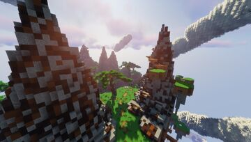 Parkour Island Minecraft Map & Project