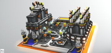 Industrial Faction Spawn Minecraft Map & Project