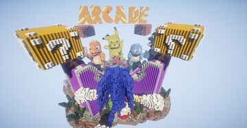 Arcadegames lobby ► Moddragon Minecraft Map & Project