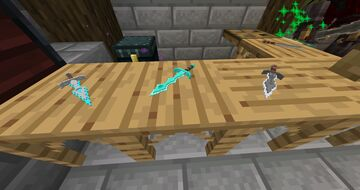CraftCitizen Survival - Forging Custom 3D Model Weapons Minecraft Map & Project