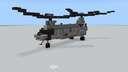 CH-46 Sea Knight 1.5:1 (Redux) Minecraft Map & Project