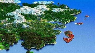 Falmaldor - Valleys, Villages and Vountains (Download, 4k, 1.17+,Java & Bedrock, Multibiome Minecraft Survival World) Minecraft Map & Project