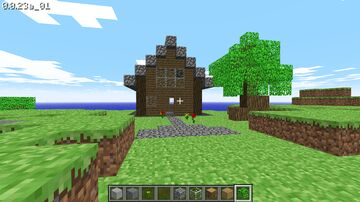 played minecraft classic today! Minecraft Map & Project