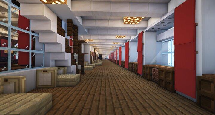 First Class Enclosed Promenade