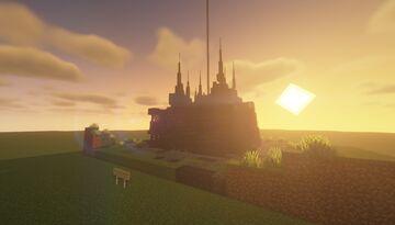 Dark Ruins Altar - Pumpkin & Melon Farm - [World Download] Minecraft Map & Project