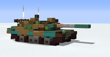 Type 10 Hitomaru Japanese MBT Minecraft Map & Project