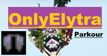 OnlyElytra (1.16.5 - 1.17.1) Minecraft Map & Project