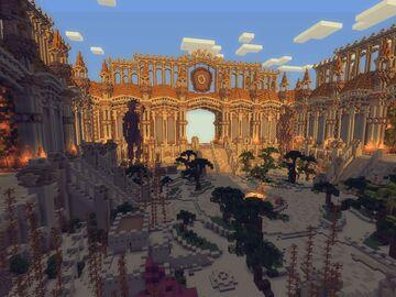 Desert Minecraft Faction Spawn Minecraft Map & Project
