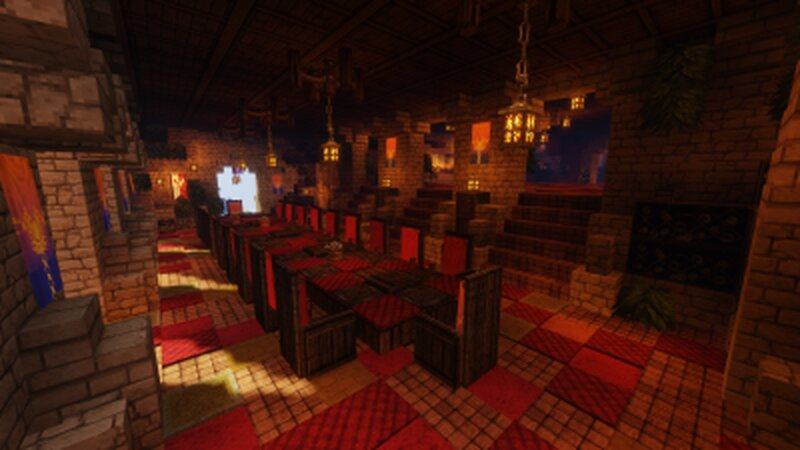 The palace of Iteru dinning room.