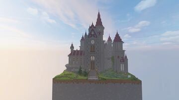 Fantasy Medieval Castle Minecraft Map & Project
