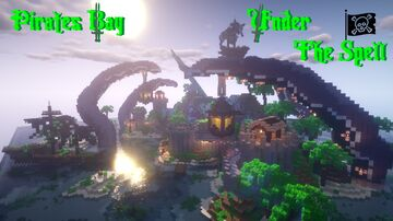 Pirates Bay Under The Spell  🏴☠️ Minecraft Map & Project