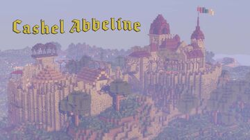 Cashel Abbeline - Stone Ring Fort, Gothic Castle on Gaelic Hills Minecraft Map & Project