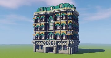 Baroque Townhouse Minecraft Map & Project