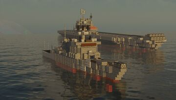 Johnston Class Flight III (DDG/CG) Minecraft Map & Project
