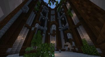Lobby with parkour Minecraft Map & Project