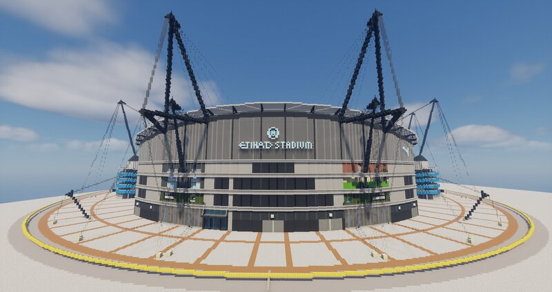 Completed South Stand exterior - September 23, 2021