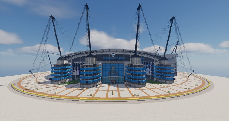Completed Colin Bell Stand exterior - September 23, 2021