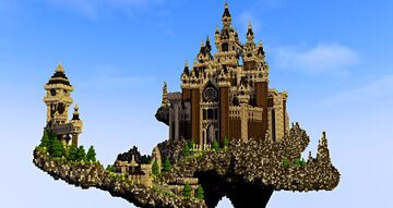 Dark Fantasy Castle Minecraft Map & Project
