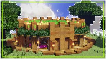⚒️ Minecraft | Perfect Starter House Minecraft Map & Project