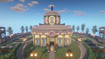 Art Gallery (remaster) - Dreamland 2021 project Minecraft Map & Project