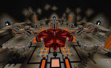 Lava Inferno Mob Arena Minecraft Map & Project