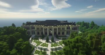 Дворец Путина 1 к 1   Putin's Palace 1:1 by TeamCIS (Build the Earth) Minecraft Map & Project