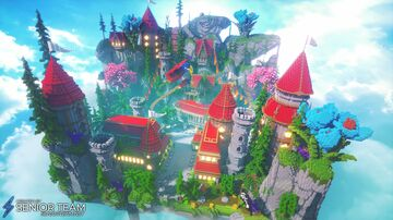 Tropical Server Hub Minecraft Map & Project
