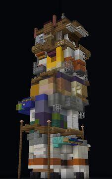 ᴛᴀʟʟ ꜱʟᴜᴍ Minecraft Map & Project