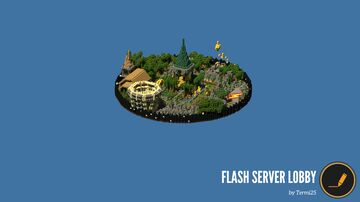 Custom lobby build for theflash.me server Minecraft Map & Project