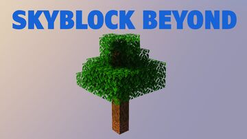 Skyblock Beyond (Map, Resource Pack, Datapack) Minecraft Map & Project