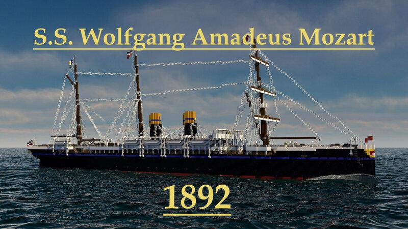 S.S. Wolfgang Amadeus Mozart 1892