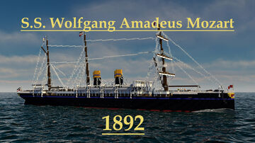S.S. Wolfgang Amadeus Mozart 1892 Minecraft Map & Project