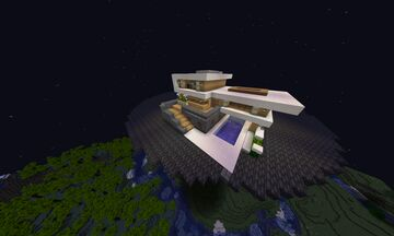 Modern and old style house! Minecraft Map & Project