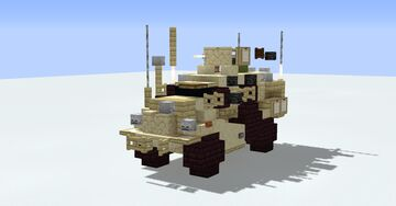 Cougar H/HE(1.5:1 scale) Minecraft Map & Project